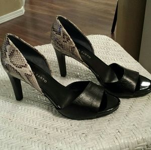 NEW Franco Sarto Heels Excellent!  Size 8.5 M